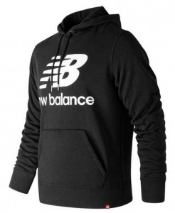 BLUZA NEW BALANCE   MT91547  BK