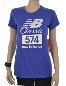 T-shirt New Balance WT81569 BUE